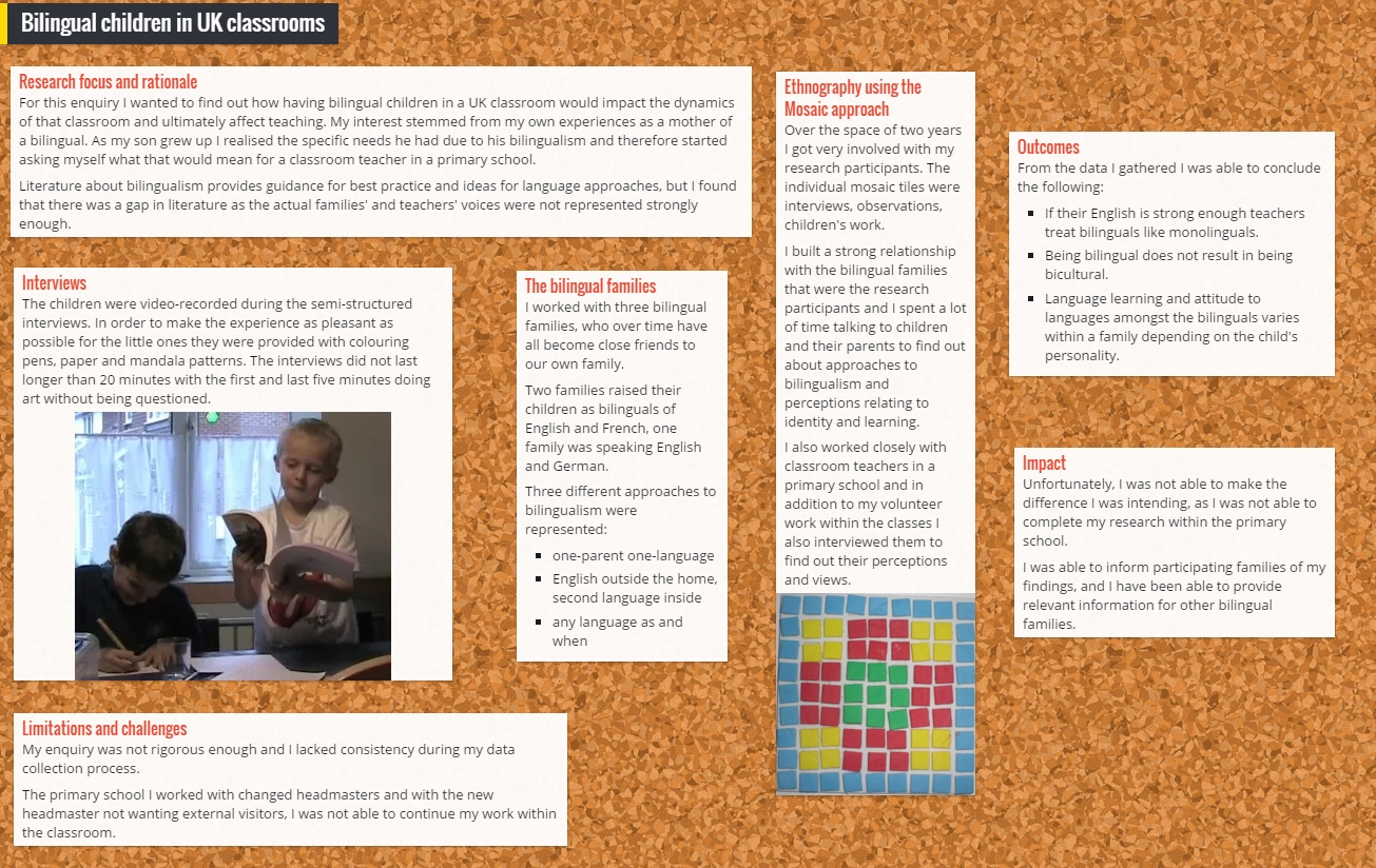 how to create a research poster - nicole brown