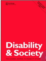 Source: Disability and Society